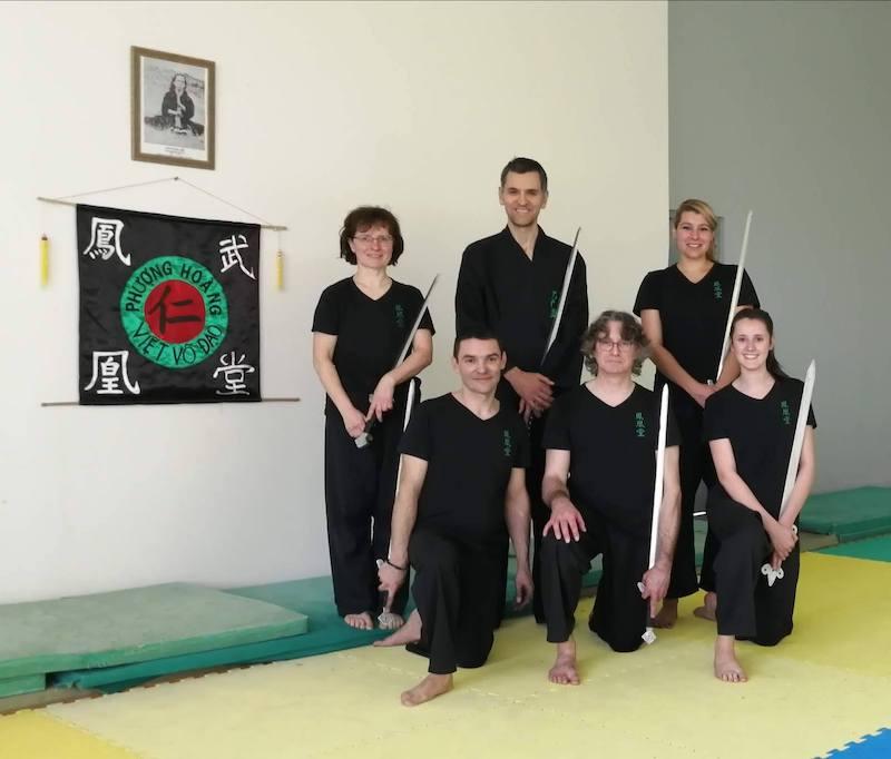 Épée de Tai Chi à St Sulpice La Pointe - Tarn